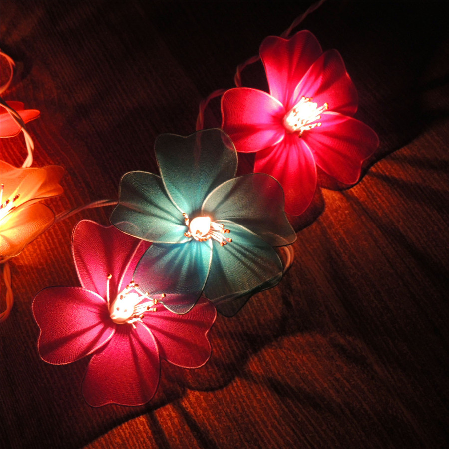 China ikea flower lights china ikea flower lights shopping guide at get quotations poem maha thai thailand mesh flower morning glory morning glory fabric lantern string lights lantern string mightylinksfo