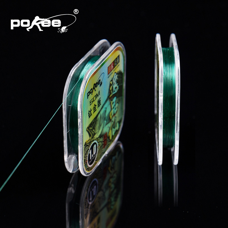 Pokee pacific fishing strand of fishing line fishing line yi products cents a wear resistant 50 m main strands of fishing line