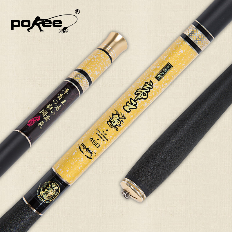 Pokee pacific monarch 3.6 3.9 5.4 high carbon taiwan fishing rod carp rod fishing rod fishing rod fishing tackle hard suit
