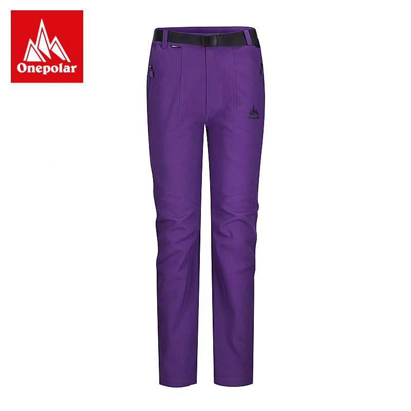 Polar outdoor windproof pants ms. winter stretch waterproof soft shell fleece liner warm pants trousers 132105