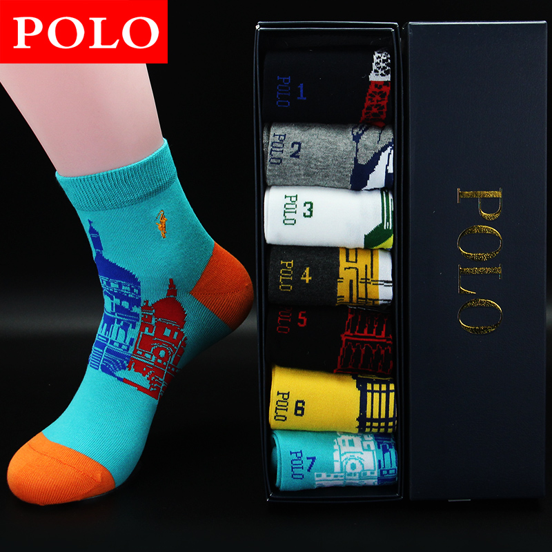 Polo cotton socks male socks men's socks men's socks paul spring in tube socks sports socks men socks cotton socks male socks male
