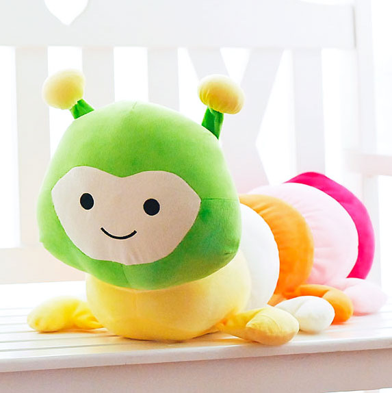 Pooh couple name child caterpillar plush toy doll pillow doll doll birthday gift for children free shipping