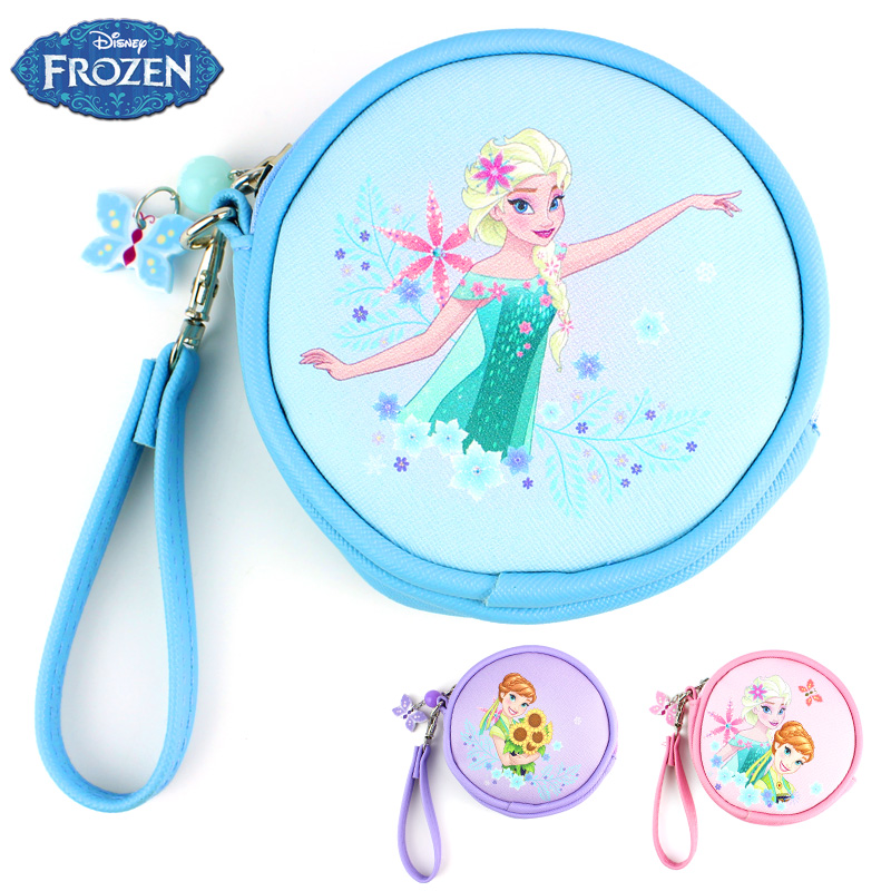 Portable purse korean version of the disney frozen children girls princess bag small wallet purse students children