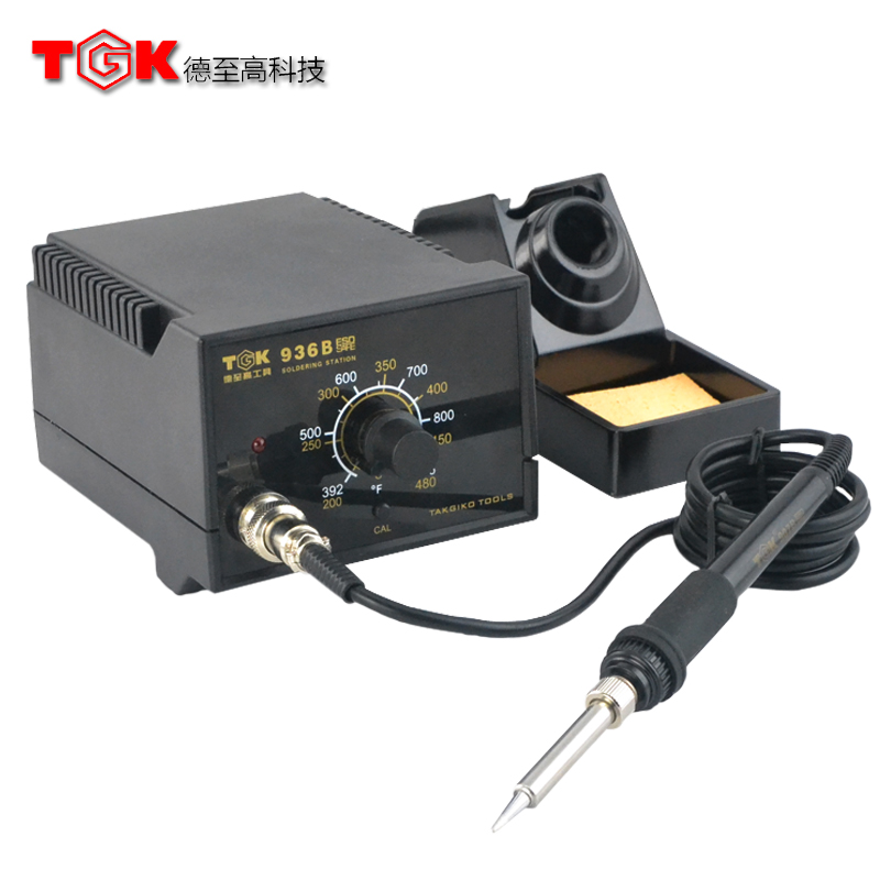 Positive moral supremacy antistatic thermostat 936 soldering station iron thermostat thermostat electric iron suit TGK-936B