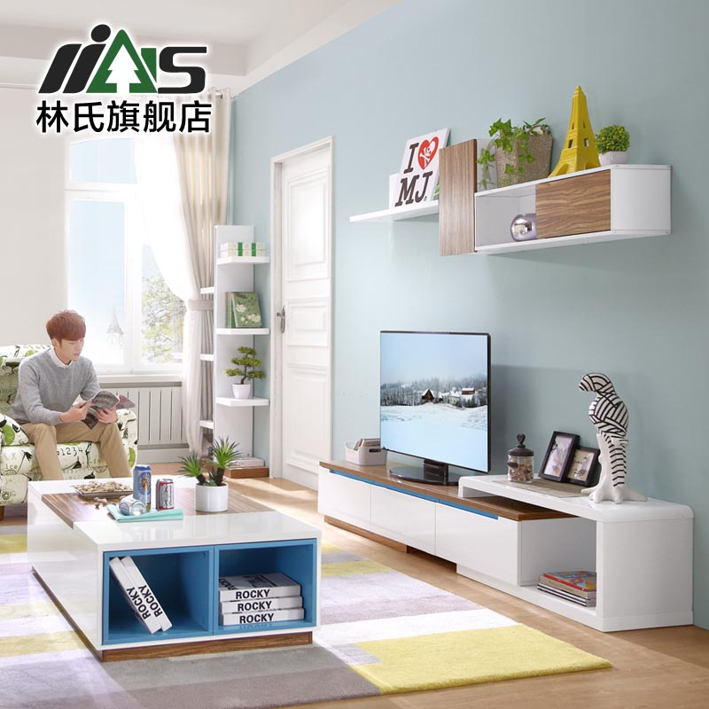 hanging clips pre lin furniture retractable tv cabinet tv cabinet modern small apartment living room tv cabinet