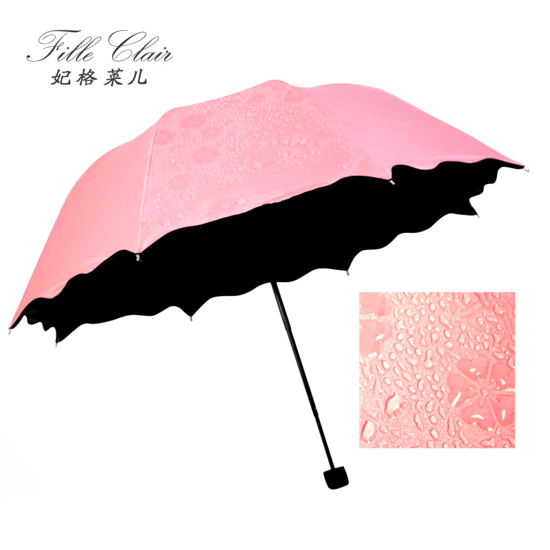 Princess grameen children sunscreen vinyl flowering water umbrella uv umbrellas creative folding umbrella sun umbrella woman