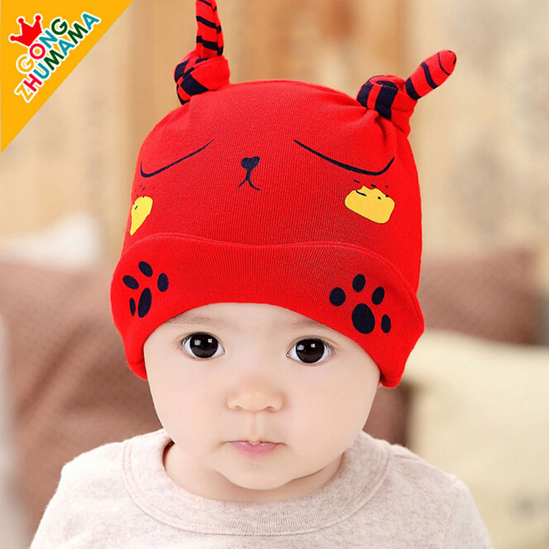Princess hat newborn baby tire cap spring and autumn 1-2-year-old 0--3--6--12 months korean infants and children cotton hat hedging