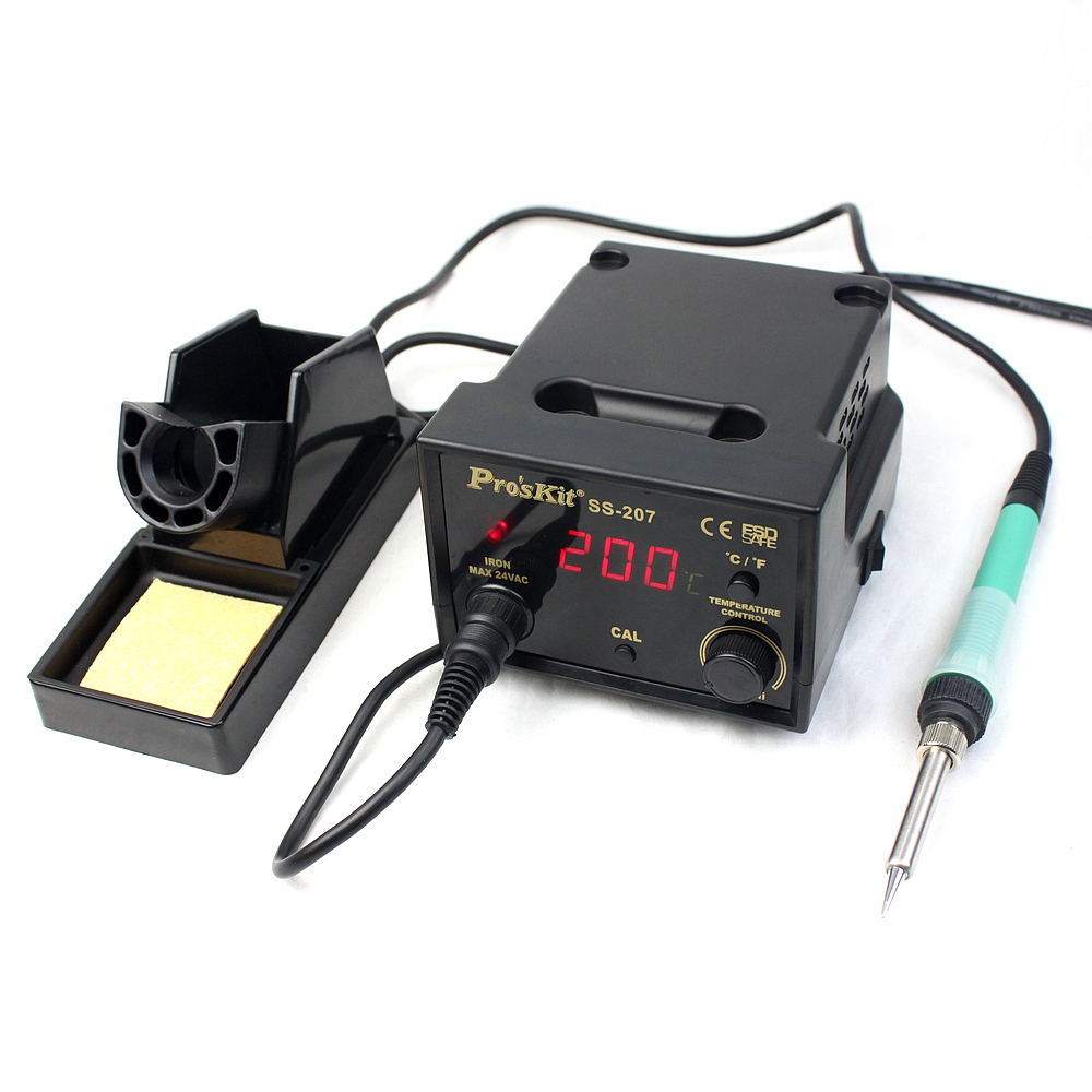 Prokit ss-207h antistatic soldering station digital thermostat soldering station 936 thermostat thermostat electric iron soldering iron