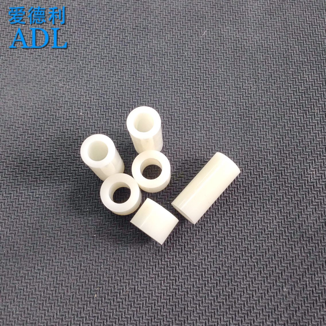 Promotional abs nylon spacers round pillar pillar spacers straight tube 6mm
