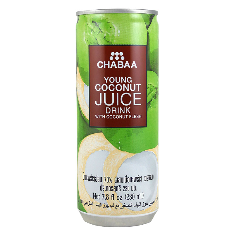 Promotional buy thailand imported drinks bati ya canned coconut juice drinks 230 ml