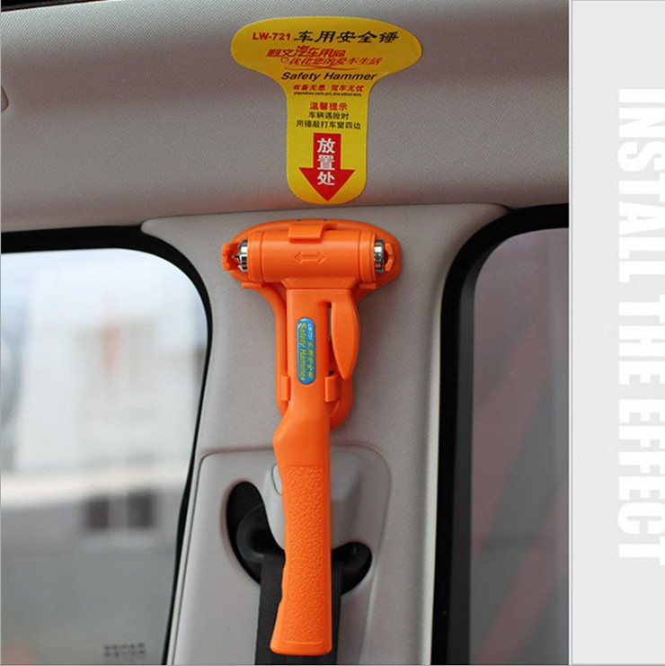 Proton car equipment car broken window emergency escape hammer lifesaving safety hammer hammer hammer broken windows automotive supplies