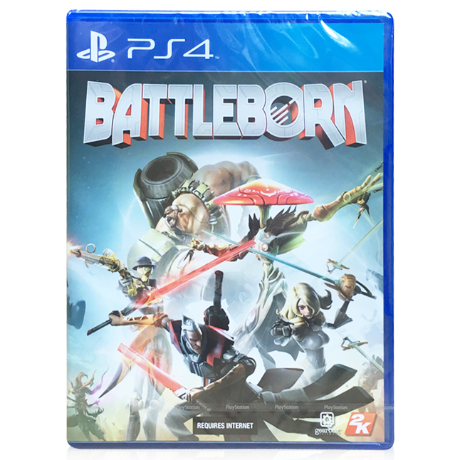 Ps4 genuine game disc is born born battleborn fighting mad war chinese version of the spot