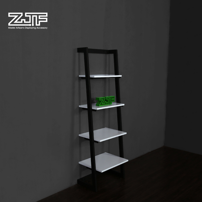Public carpenter square zjf clothing shoe store display shelf display rack bag shop window display props creative staircase rack d2'