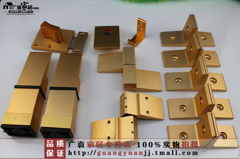 Public toilet partition hardware accessories toilet partition accessories toilet partition accessories sandblasting gold accessories