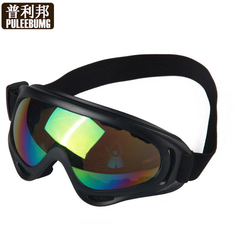 cd2a30d78f Get Quotations · Puli bang outdoor sports ski goggles motorcycle goggles  wind mirror goggles shock and dust goggles ski