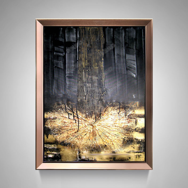 Pure hand painted abstract oil painting zao european minimalist modern living room entrance hallway paintings painted art paintings