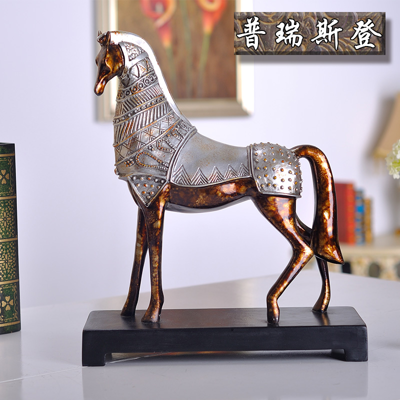 Puri stearns authentic european and american style horse madaochenggong horse ornaments crafts soft furnishings den furnishings accessories