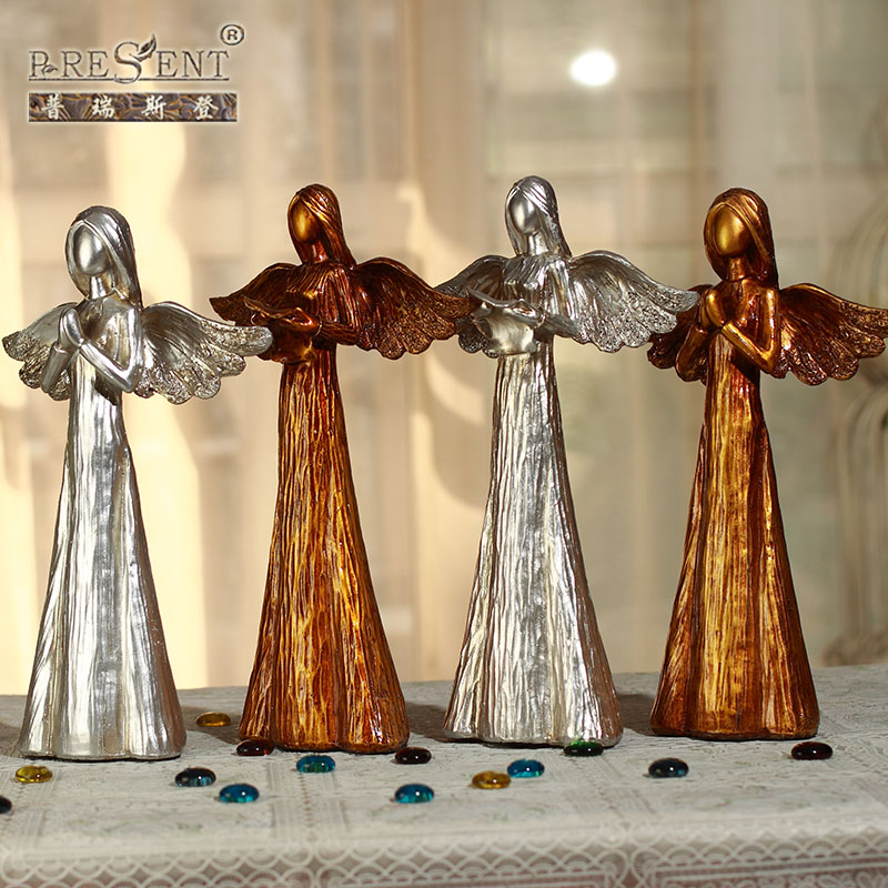 Puri stearns european direct figure resin angel desktop ornaments home decorations european and american style furnishings gift