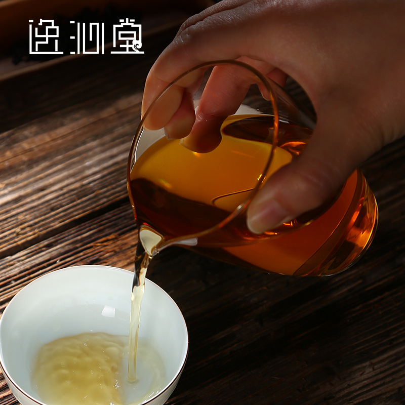 Qin yi tang jingdezhen ceramic tea fair cup pyrex sub sea tea kung fu tea handmade blown glass cup