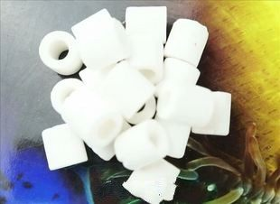 Quality glass ring 50 of high quality filter material hexagonal glass ring ceramic ring cultivate nitrifying bacteria