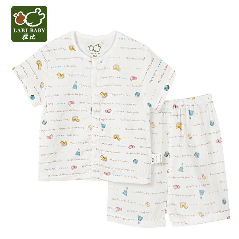 Rabbi rabbi kids 2016 summer new underwear sets for boys and girls baby juvenile fun full short suit