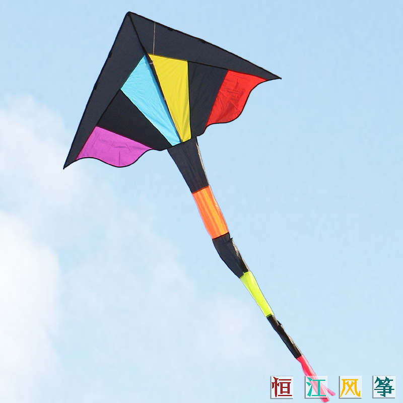 Rainbow kite kite kite 3.2 m kite heng jiang weifang kite flying paul 5 fold beginner kite kite line