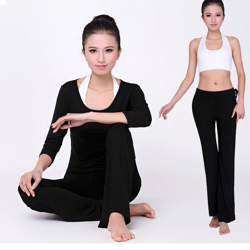 Rambo new vest yoga clothes yoga clothes parure female autumn and winter slim long sleeve yoga clothes yoga clothes increasingly workout clothes Set