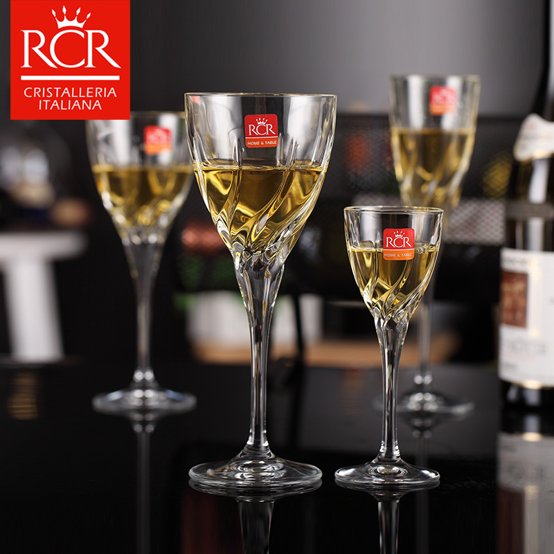 Rcr unleaded crystal wine glass of wine with a wine glass goblet cup spirits carved champagne cup imports