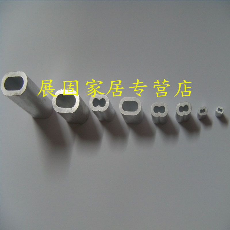 Recommended rope authentic chuck/aluminum sleeve/aluminum chuck/8 character sets of aluminum/aluminum chuck 2 MM mm [each 20只price]