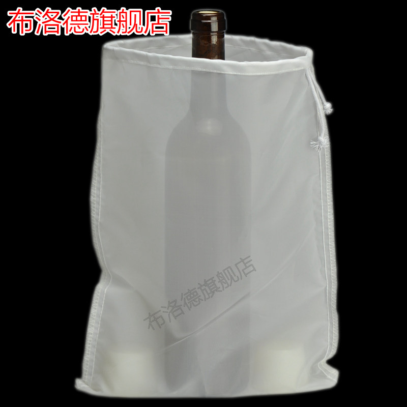 Red wine brewed wine pomace separation filter bag filter herbal tea bags of food grade nylon mesh gauze white