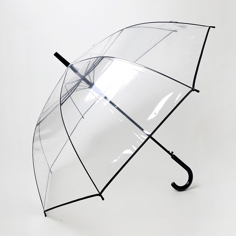 Retro astringent creative thick transparent umbrella umbrella princess umbrella arch transparent umbrella skillet couple of new products