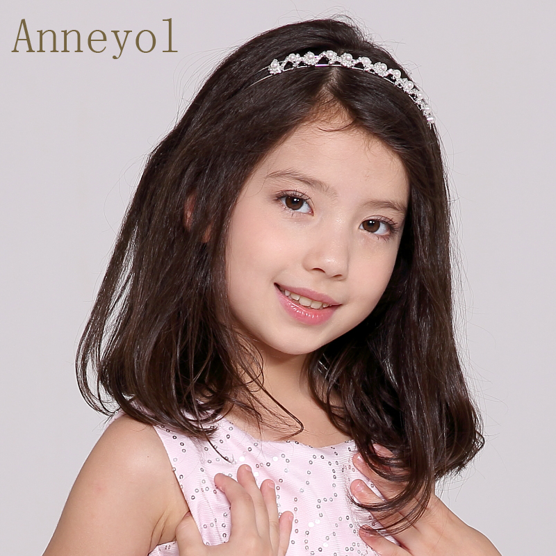 Rhinestone tiara crown headband children children children children crown princess crown flower girl