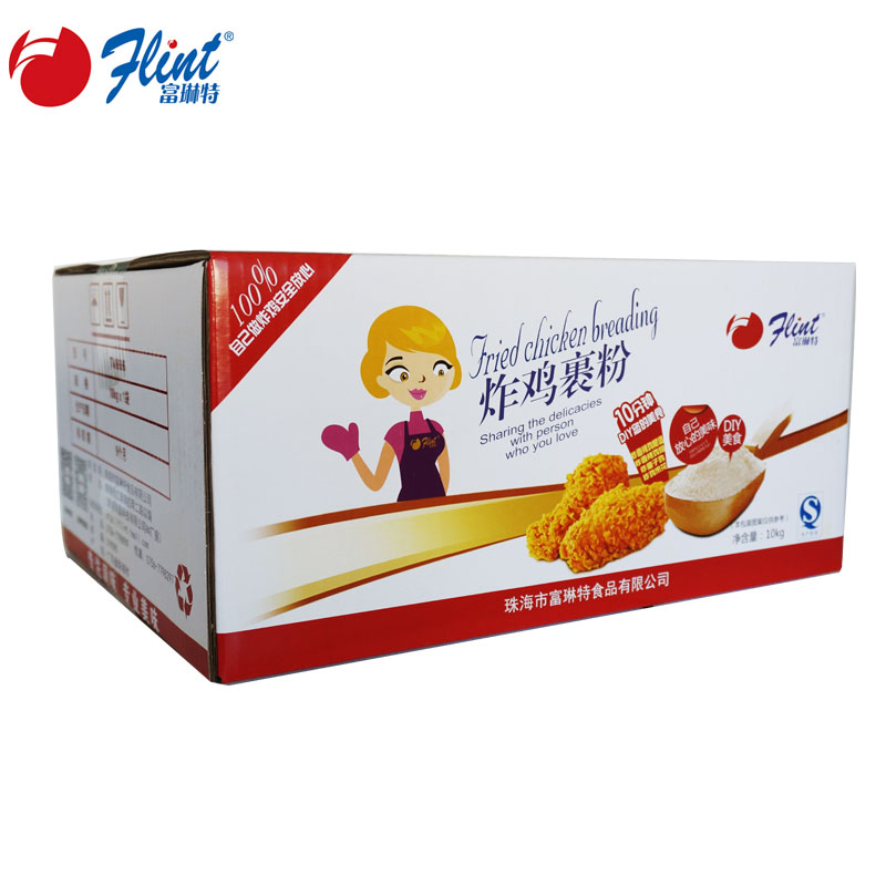 Rich linte breaded fried chicken crispy fried flour fried chicken powder 10kg chicken burger chicken rice flower fried chicken feed material protective shell