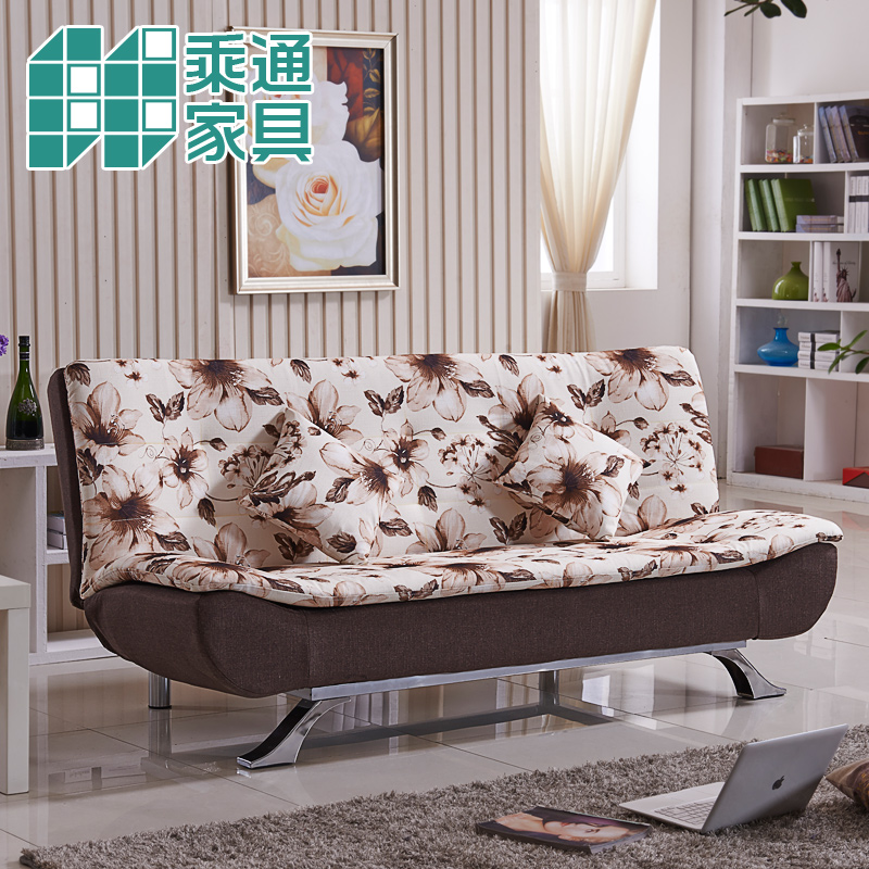 Ride through multifunctional sofa bed 1.2 m folding futon sofa bed sheets were double sofa bed small apartment