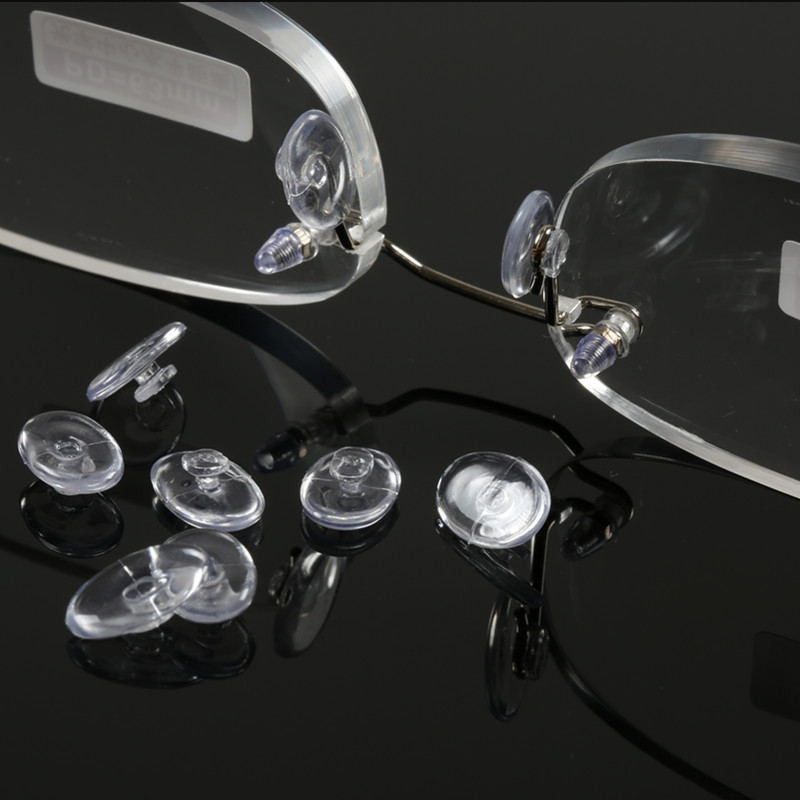 Rimless glasses frame rimless reading glasses reading glasses nose pads silicone nose pads and nose pad super soft 815 snaps 2 9.9 accessories