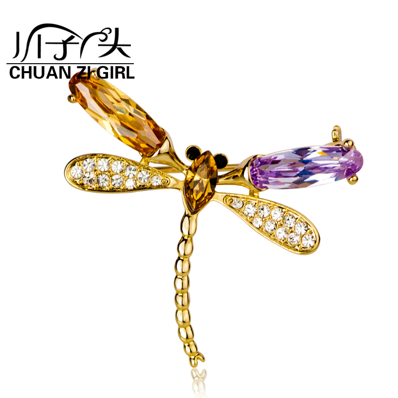 River sub girl brooch fashion jewelry dragonfly brooch pin brooch korean fashion shawl scarf buckle buckle female models with