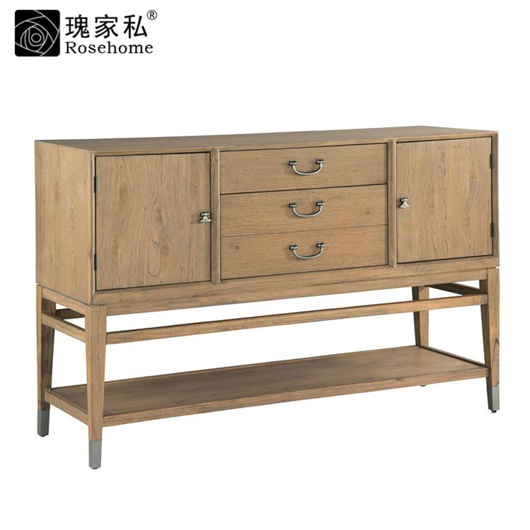 Rose end custom furniture dining room furniture american country furniture wood sideboard cabinet lockers side cabinet storage cabinet