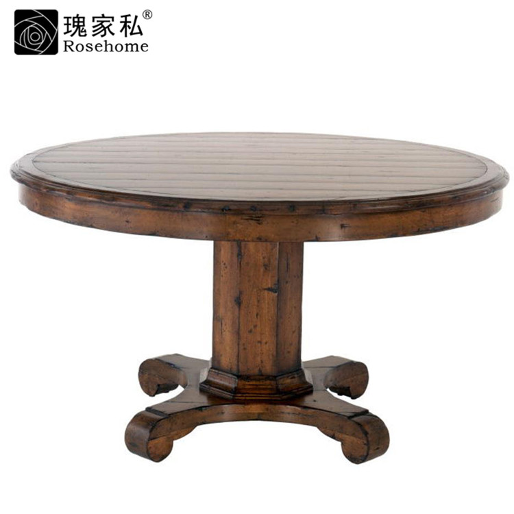 Rose end custom furniture dining room furniture american country modern fashion wood dining table dining table dining table CE0956