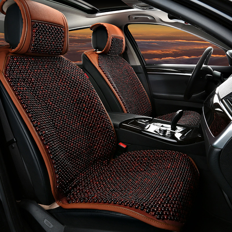 Rosewood grass pear wood bead car seat cadillac srx/xts/ats-l/XT5/ct6 seat cushion