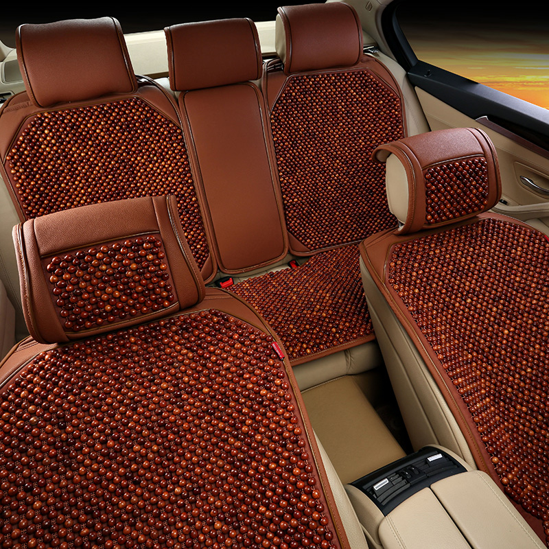 Rosewood grass pear wood bead car seat new nissan sylphy teana qashqai trail loulan cima seat cushion