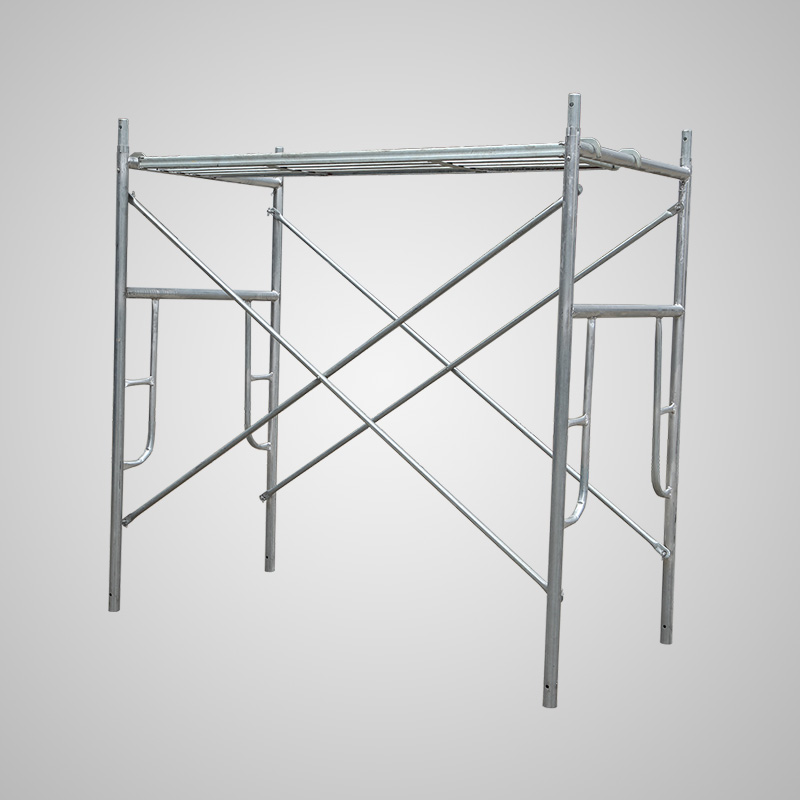 Round window type welding scaffolding mobile scaffolding frame height stage frame factory direct