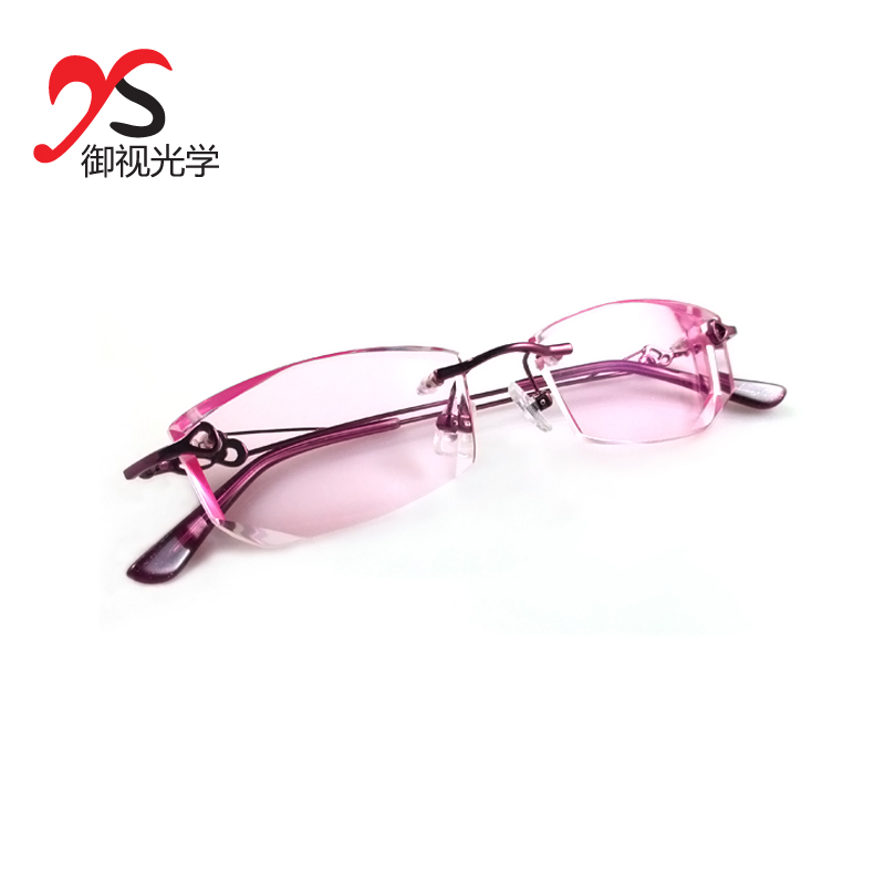 Royal depending glasses glasses frame glasses frames myopia women glasses rimless glasses diamond trimming glasses with glasses
