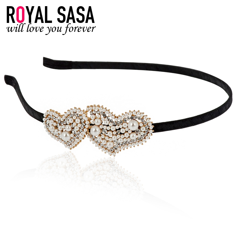 Royal salsa korea crystal headband hair band hairpin headdress hair accessories hair bands hairpin love