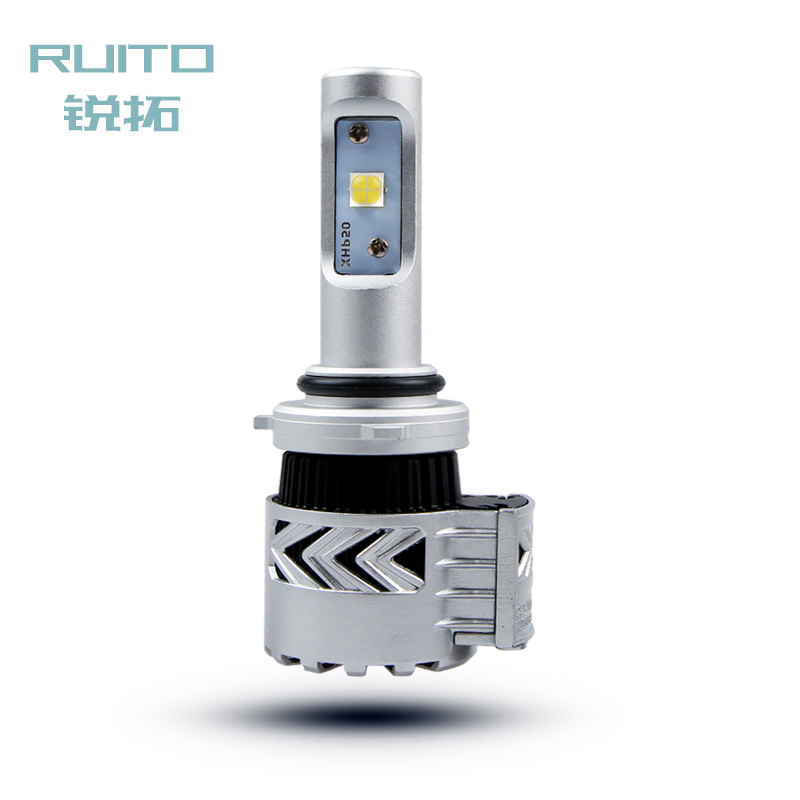 Rui rio car headlights led headlight bulb led headlight h4 distance light h7 modified with 9005 9012