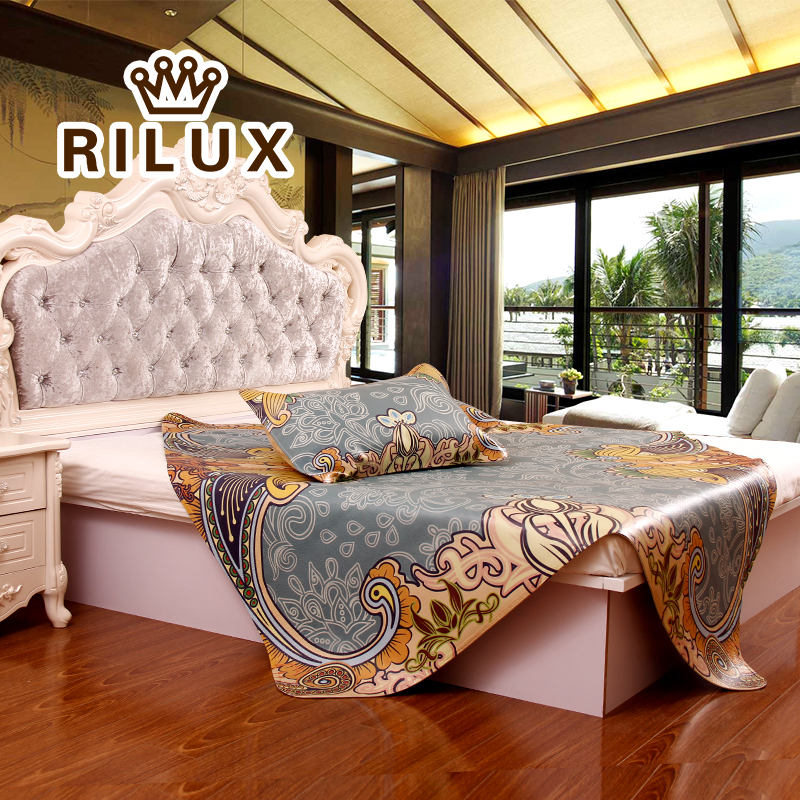 Ruiwei si 2016 painted leather seats first layer of water buffalo leather mat ruanxi 1.5/m three sets of summer