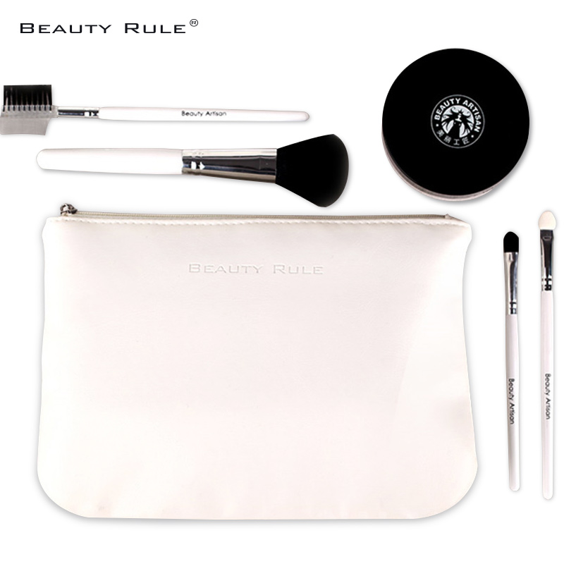 Rule beautiful white waterproof cosmetic bag large capacity portable storage bag clutch fashion party bag toiletry kits
