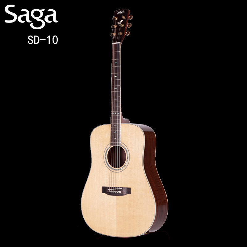 Saga sajia sd10 41 inch acoustic guitar ballad full board fingerstyle accompaniment of musical instruments guitar jita send qinhe