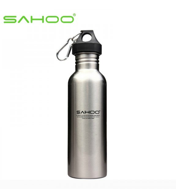 Sahoo bicycle water bottle stainless steel sports bottle bicycle water bottle sports bottle wide mouth [52357]