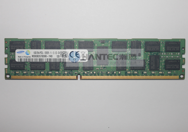 Samsung 16 gb 2rx4 pc3l-12800r M393B2G70DB0-YKO reg server memory