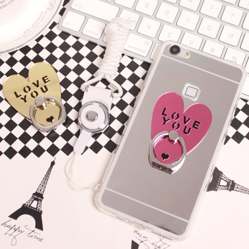 Samsung s660ç±³handheld straight stent screen mirror love lanyard mobile phone sets the whole package of silica gel g9200 phone shell korea female